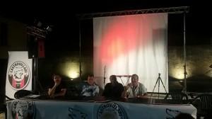 Il tavolo dei relatori. Da sinistra: Gimigliano, Pirrera, Iannelli, Lo Polito