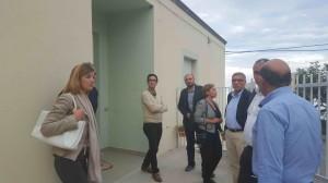 La visita dei rappresentanti del Ministero a Roseto