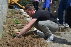 Attività di decoro urbano al Parco Archeologico di Francavilla Marittima
