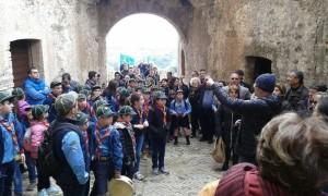 Scout al castello di Rocca