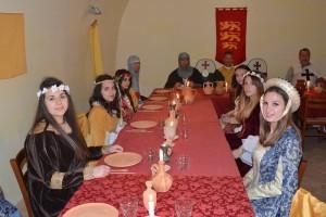 pranzo medievale nocara