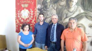 incontro una scleta in comune - in foto l'Assessore alla Sanità Michele Vitiritti e il dott. Pellegrino Mancini