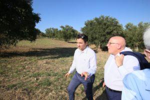 oliverio visita area per cimitaro migranti tarsia  - 8
