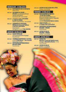 Il programma dell'evento (1)