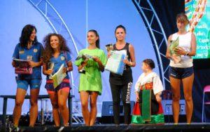 podio femminile corriamo al festival_o