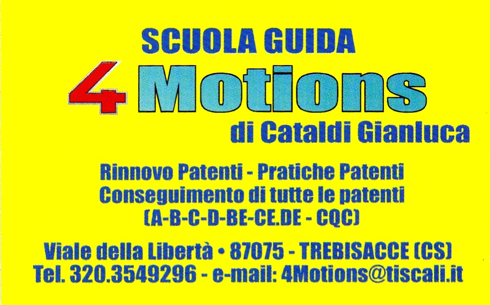 4 motions